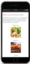 Website AZ FOOD horeca grossiers