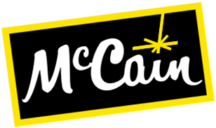 McCain_logo, MC Cain, AZ Food