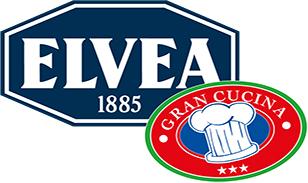 Elvea, Elvea logo, az food