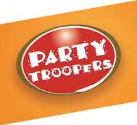 party troopers logo, az food